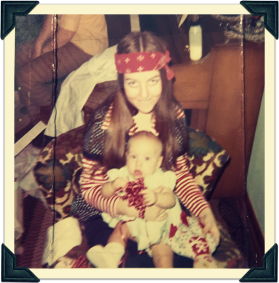 Mom and me 1st xmas